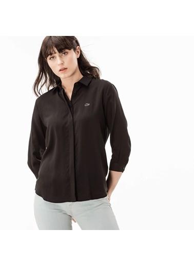 Lacoste Kadın  Gömlek CF0812.12S Siyah